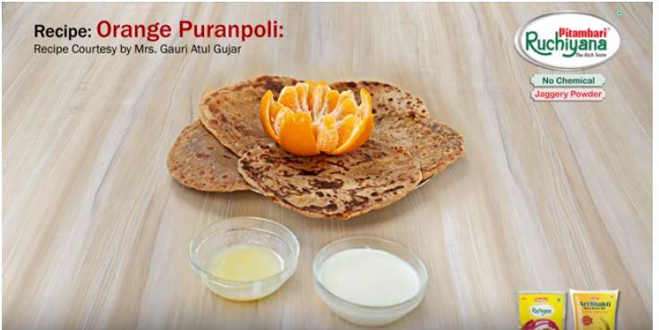 Orange Puranpoli