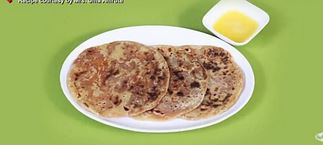 Puranpoli  Made of Jaggery & Red Pumpkin (Lal bhopla)